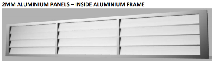 2mm aluminium